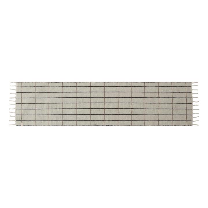 Grid Läufer 60 x 250 cm von OYOY in beige