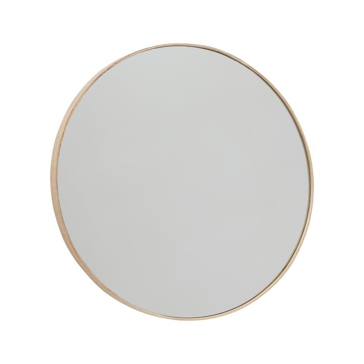 Mun Wandspiegel Ø 70 cm, Esche von OYOY