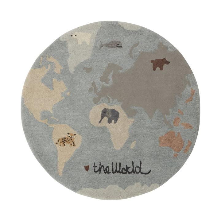 The World Spielteppich Ø 120 cm von OYOY