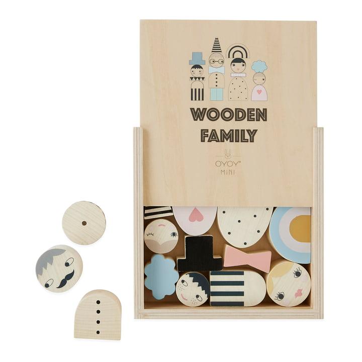 Holzspielzeug Familie, natur von OYOY