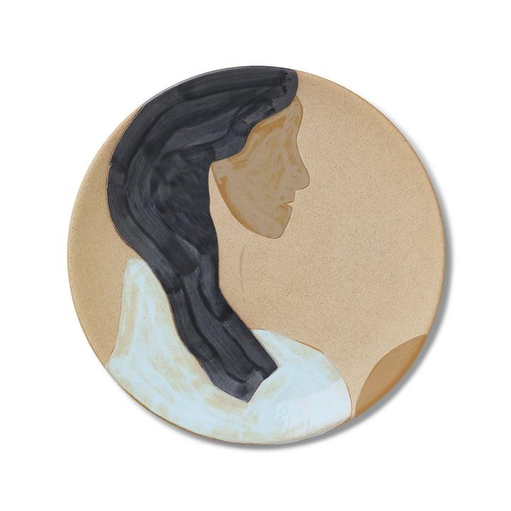 Keramik Teller, Hessa von ferm Living