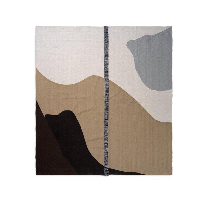 Vista Tagesdecke 140 x 180 cm von ferm Living in sand