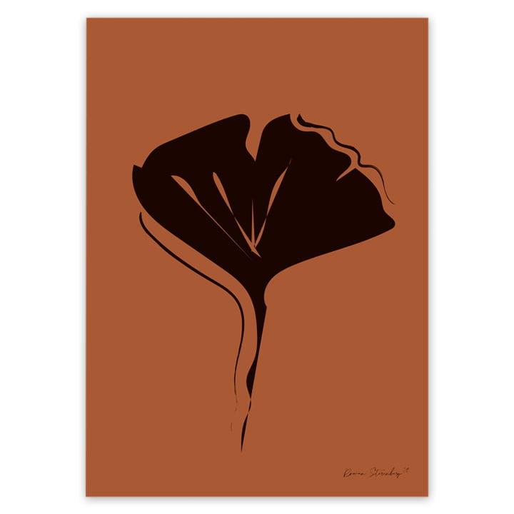 Leaf Abstraction Poster von artvoll