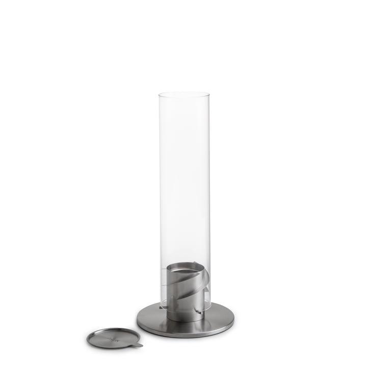 Spin Tischfeuer 90, silber von höfats