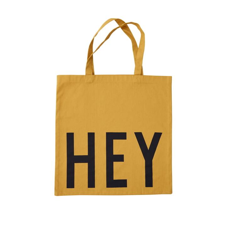 AJ Favourite Tragetasche, Hey / senf von Design Letters