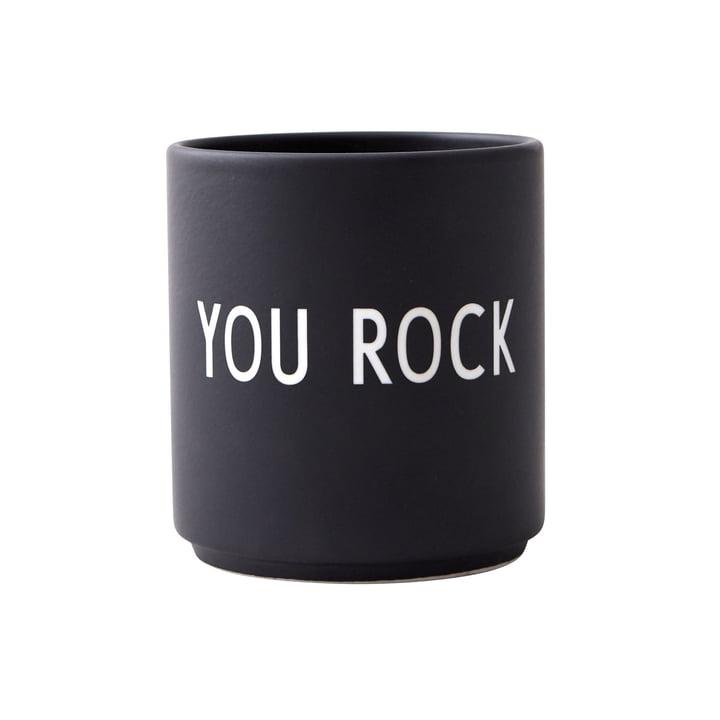 AJ Favourite Porzellan Becher, You Rock von Design Letters