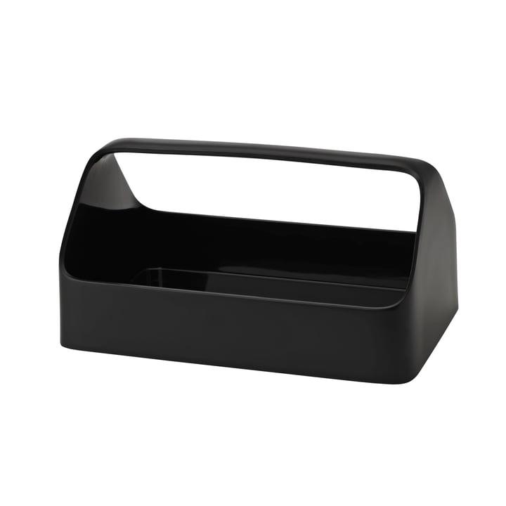 Handy-Box Aufbewahrungsbox von Rig-Tig by Stelton in schwarz