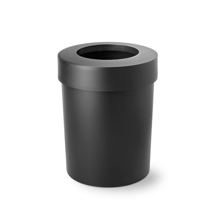 Midi Cap Papierkorb von Depot4Design in schwarz