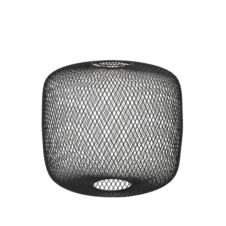 Broste Copenhagen - Boden Lampenschirm, Ø 34 x H 32 cm, schwarz
