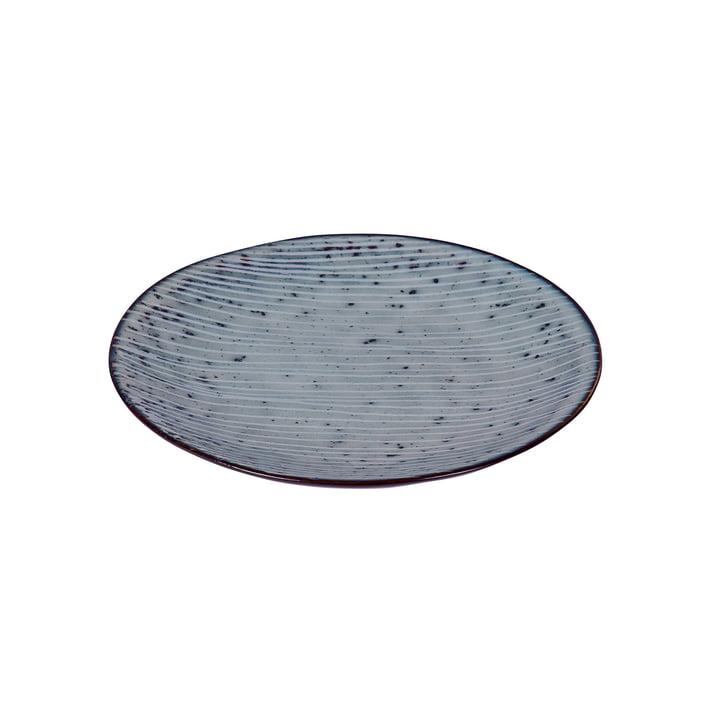 Nordic Teller, Ø 15 x H 2 cm, sea von Broste Copenhagen
