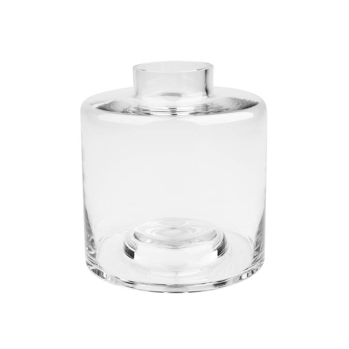 Stackable Vase Ø 14 x H 15 cm, transparent von Connox Collection