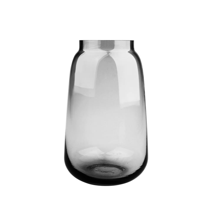 Bou Vase Ø 15 x H 24 cm, grau von Connox Collection