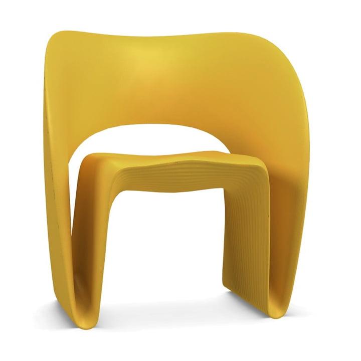 Raviolo Sessel von Magis in gelb