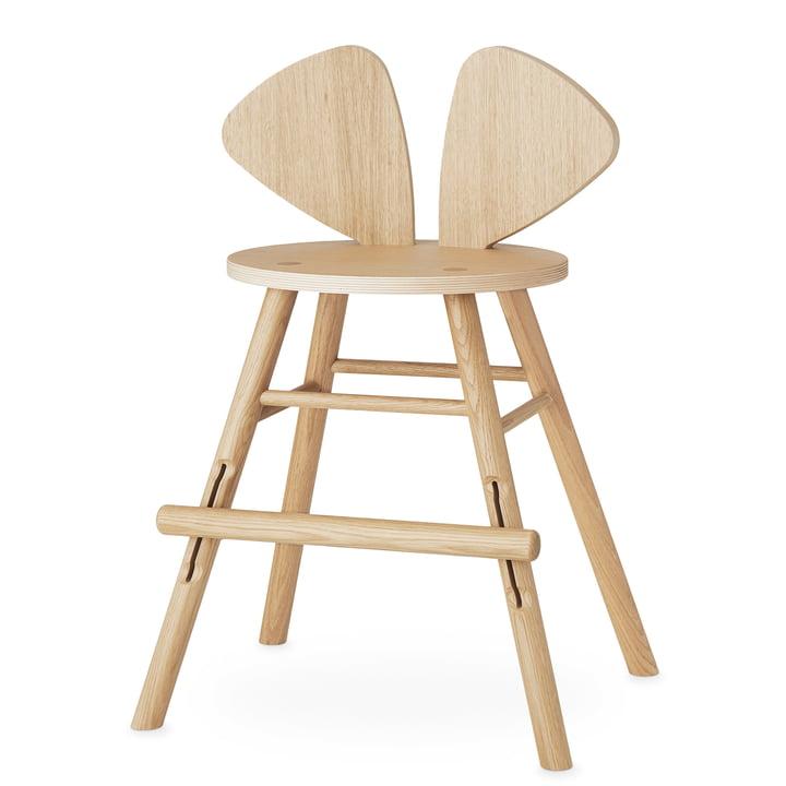 Mouse Junior Stuhl von Nofred in Eiche matt lackiert