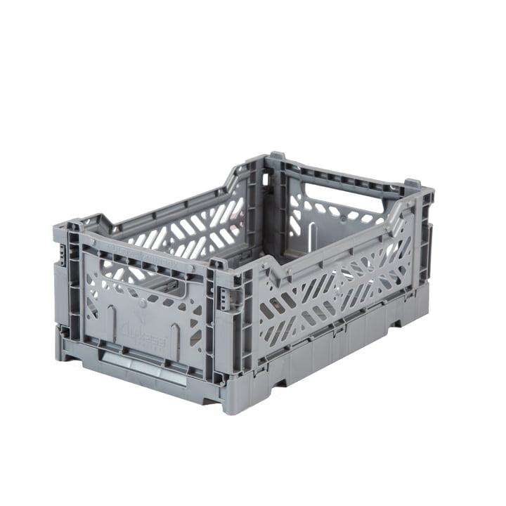 Faltkiste Mini 27 x 17 cm von Aykasa in grey