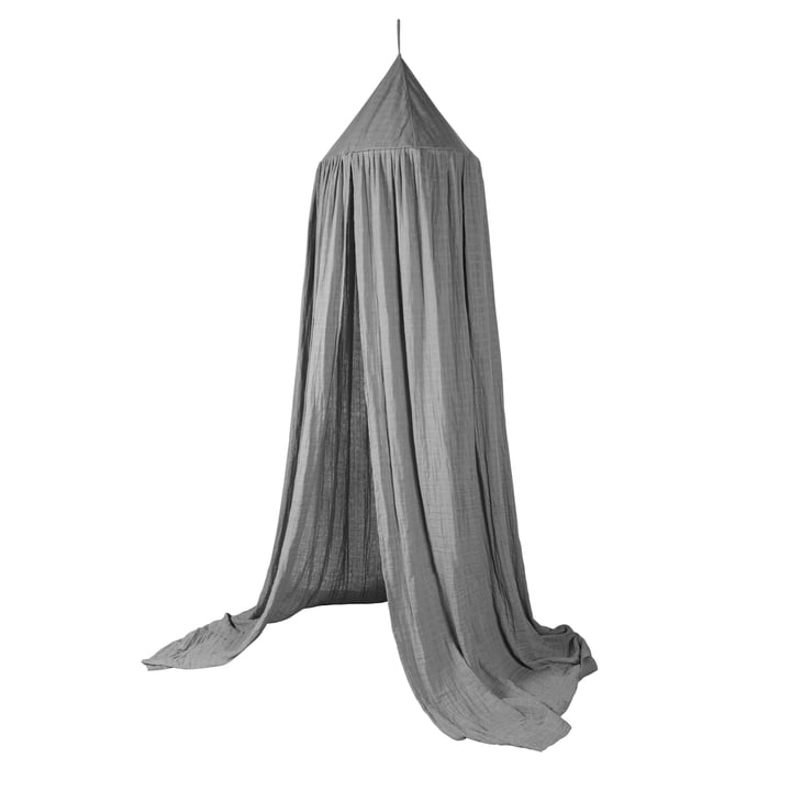 Betthimmel von Sebra in elephant grey
