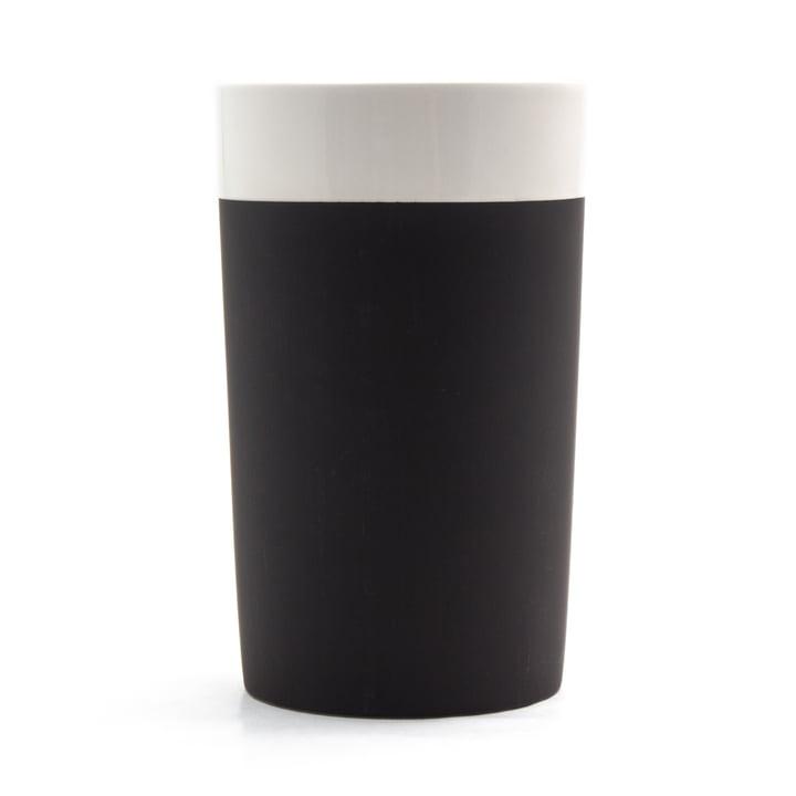 Selbstkühlender Weinkühler von Magisso in weiß / schwarz