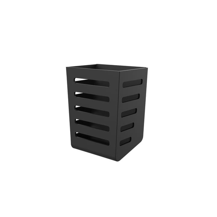 Besteckkasten von Magisso in schwarz
