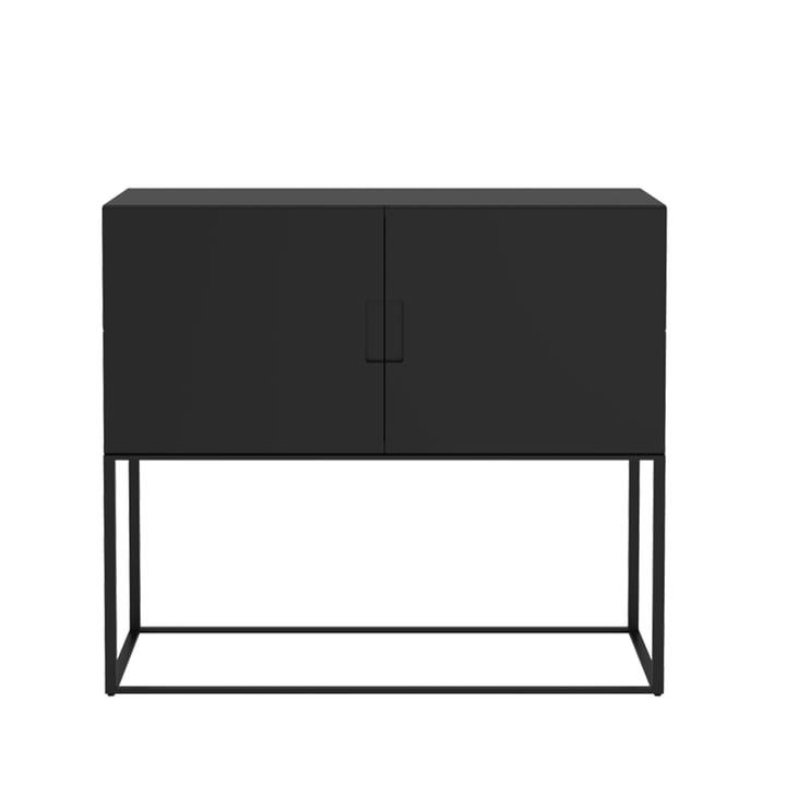Fischer Regalsystem, Design No. 1 von Objekte unserer Tage in schwarz