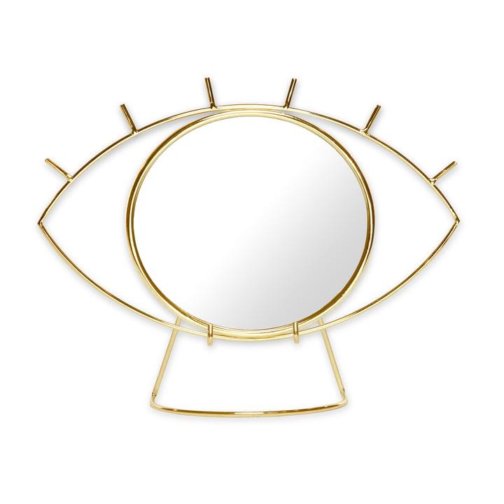 Cyclops Tischspiegel, gold von Doiy