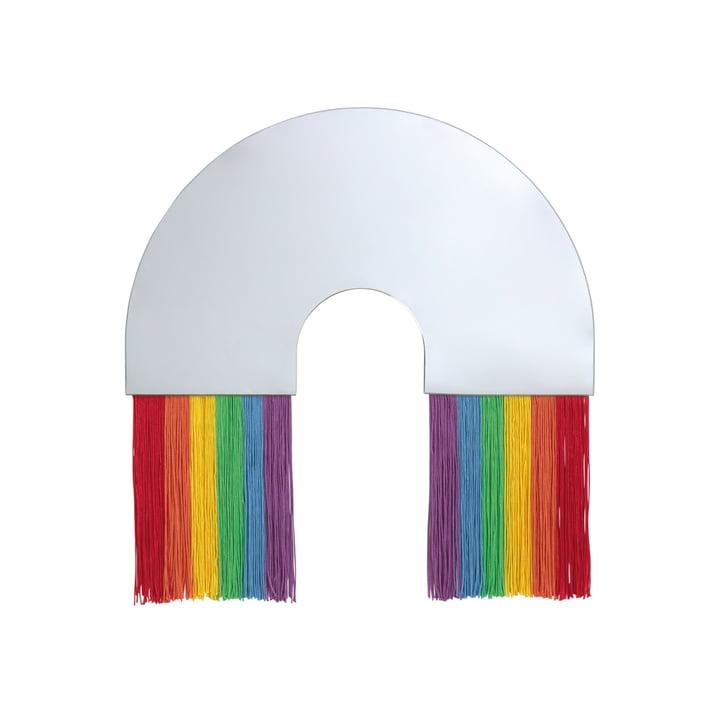 Rainbow Wandspiegel M von Doiy