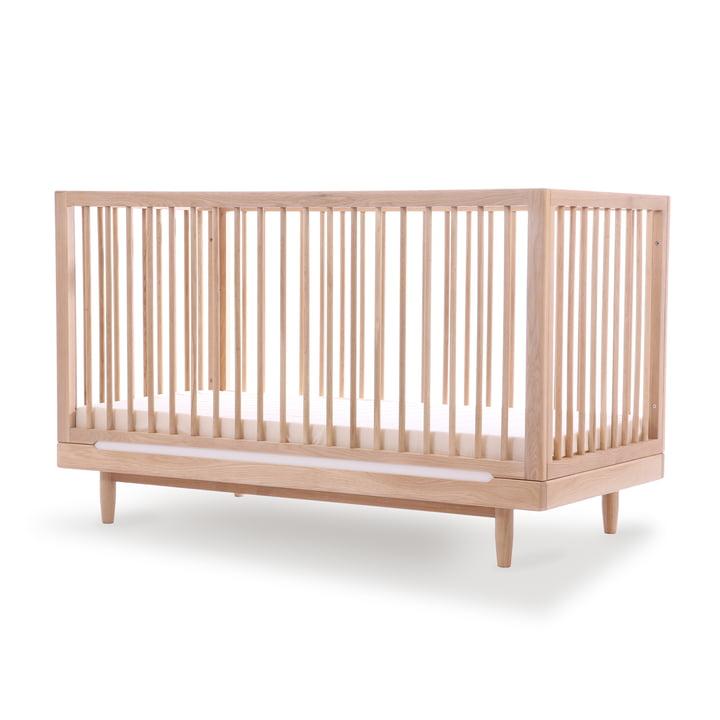 Pure Babybett, 70 x 140 cm, Eiche von Nobodinoz