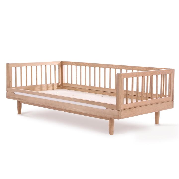 Pure Junior Bett, 70 x 140 cm, Eiche von Nobodinoz