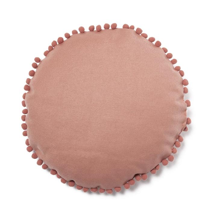 Sunny Kissen Ø 37 cm, dolce vita pink von Nobodinoz