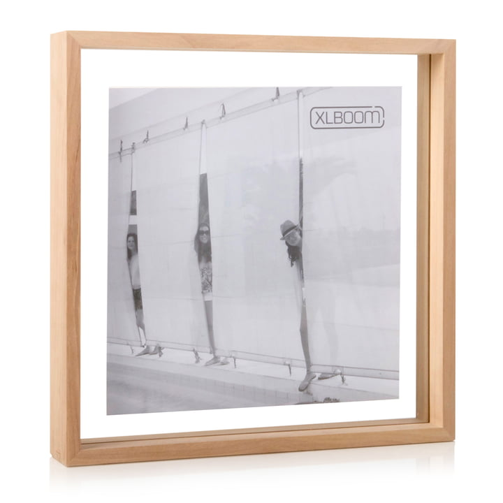 Square Floating Box Bilderrahmen 32 x 32 cm, Timber von XLBoom