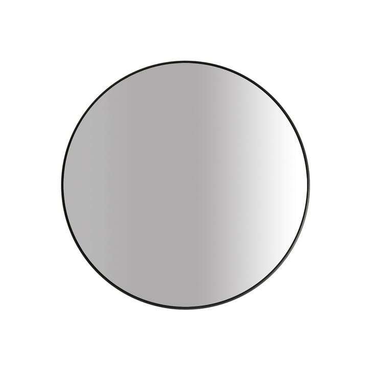 Der Big Spiegel Ø 60 cm, schwarz von yunic
