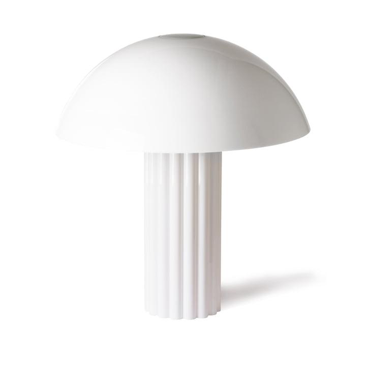 Cupola Tischleuchte von HKliving in weiß