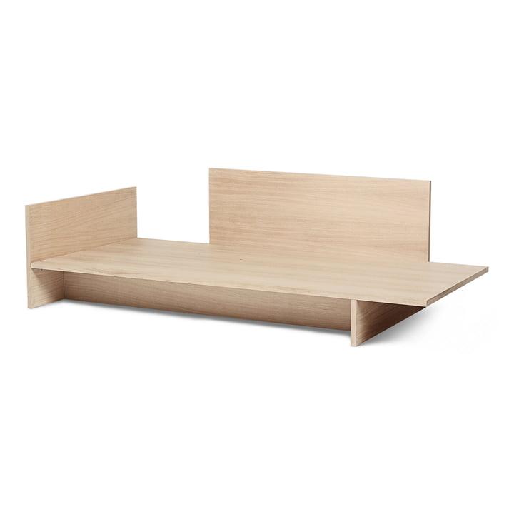 Kona Bett, 90 x 200 cm, natur von ferm Living