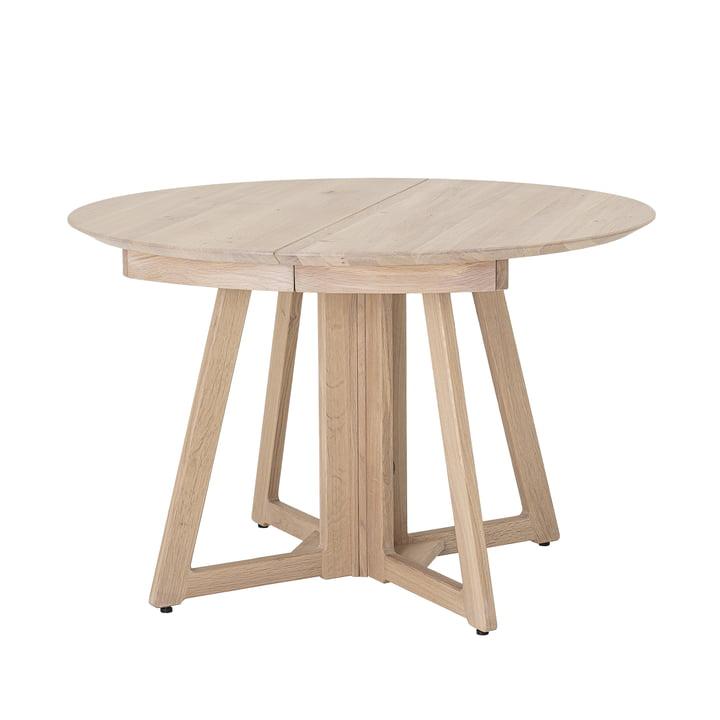 Owen Dining Table, Ø 118 x H 75 cm, Eiche natur von Bloomingville.