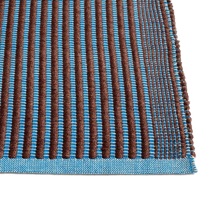 Tapis Teppich, kastanie / blau von Hay.