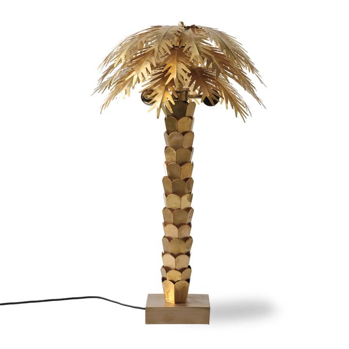 Die Palm Tischleuchte, H 68 cm, messing von HKliving