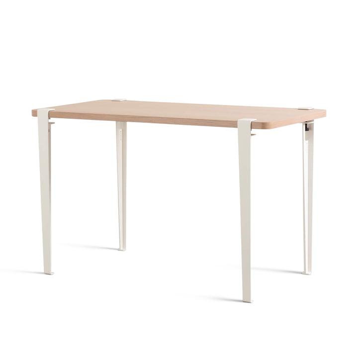 Der NOMA Schreibtisch, Eiche / wolkenweiß von TipToe