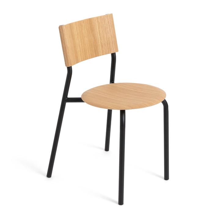 Der SSD Stuhl, Eiche / graphitschwarz von TipToe