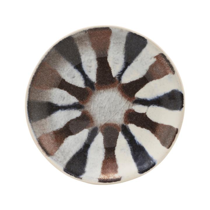 Der Organi Teller, Ø 15,7 cm, bunt von House Doctor