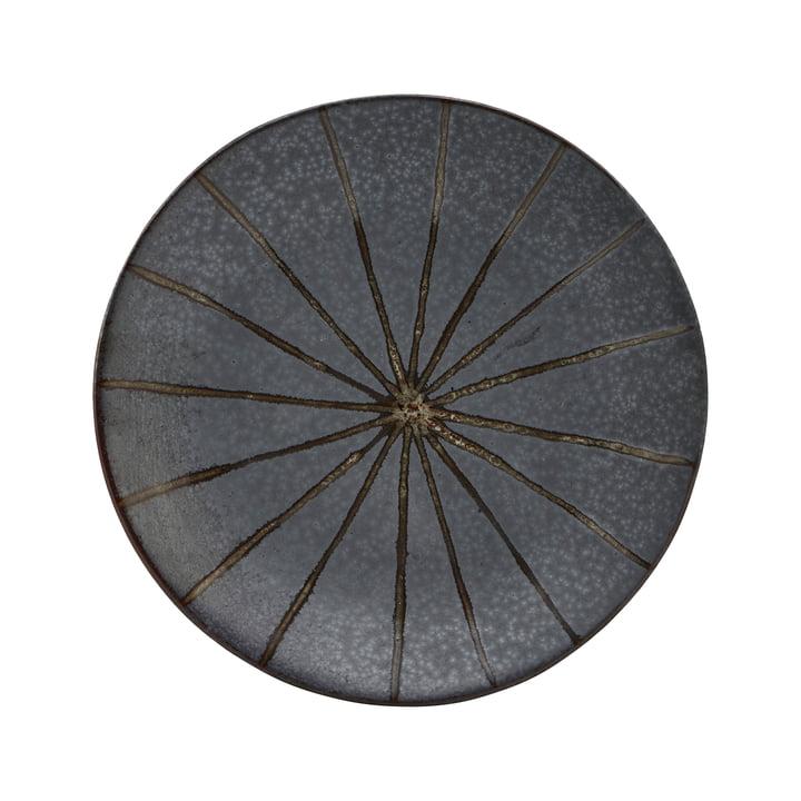 Der Suns Teller, Ø 15,7 cm, dunkelbraun von House Doctor