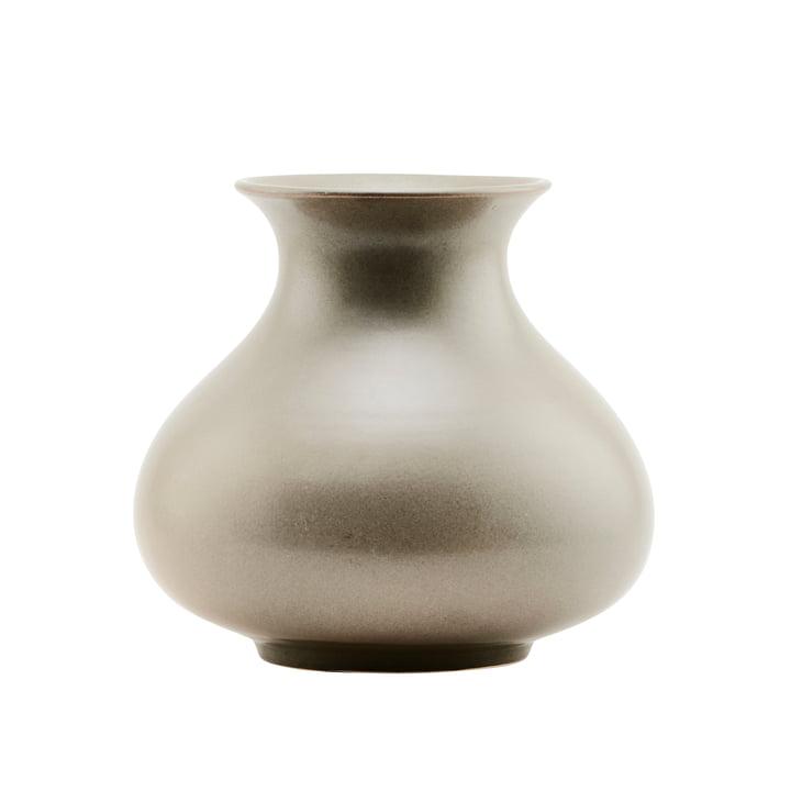 Die Vase Santa Fe, Ø 25 x H 23 cm, Muschelschlamm von House Doctor