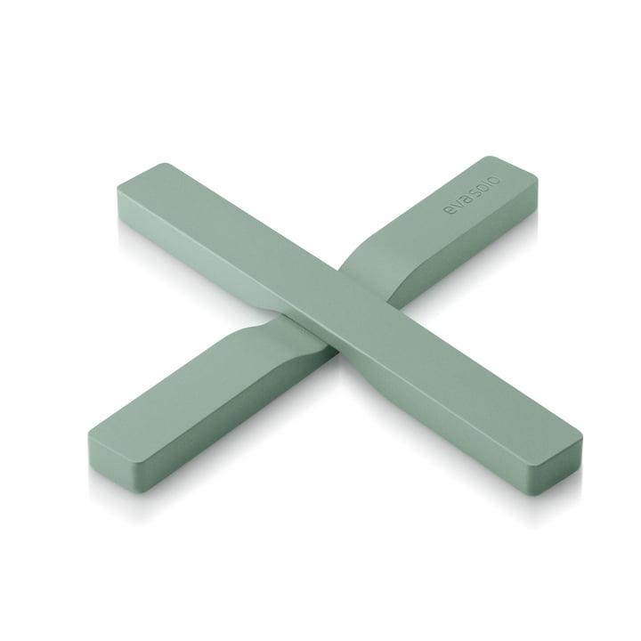 Der Gravity Untersetzer, faded green von Eva Solo