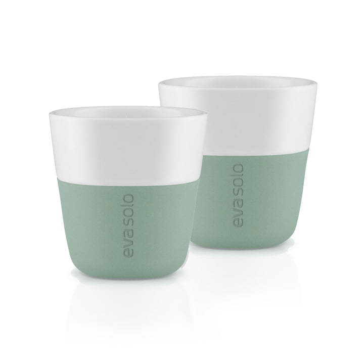Die Espresso-Becher (2er-Set), faded green von Eva Solo