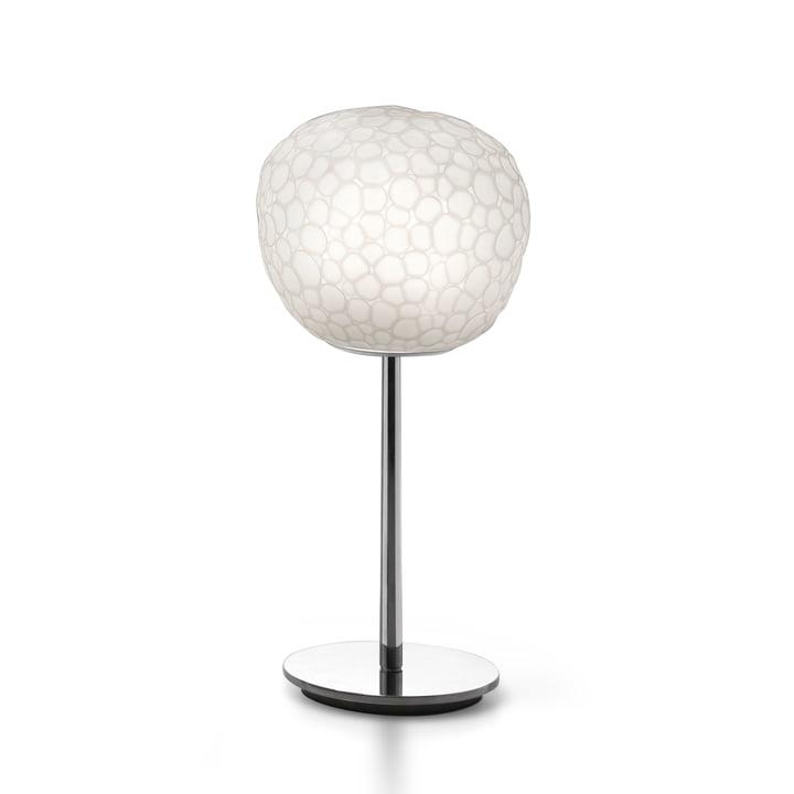 Meteorite 15 Tischleuchte mit Standfuß von Artemide in weiß