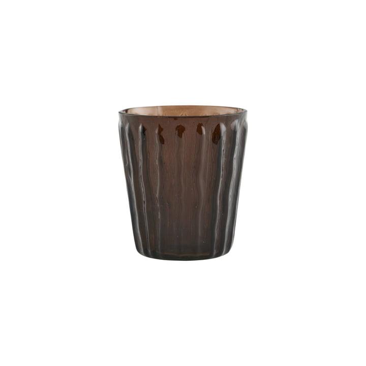 Tinka Teelichthalter, Ø 7 cm, braun von House Doctor