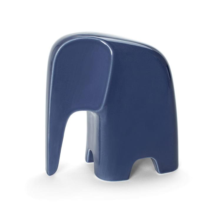 Olifant von Caussa aus Porzellan in denim blau