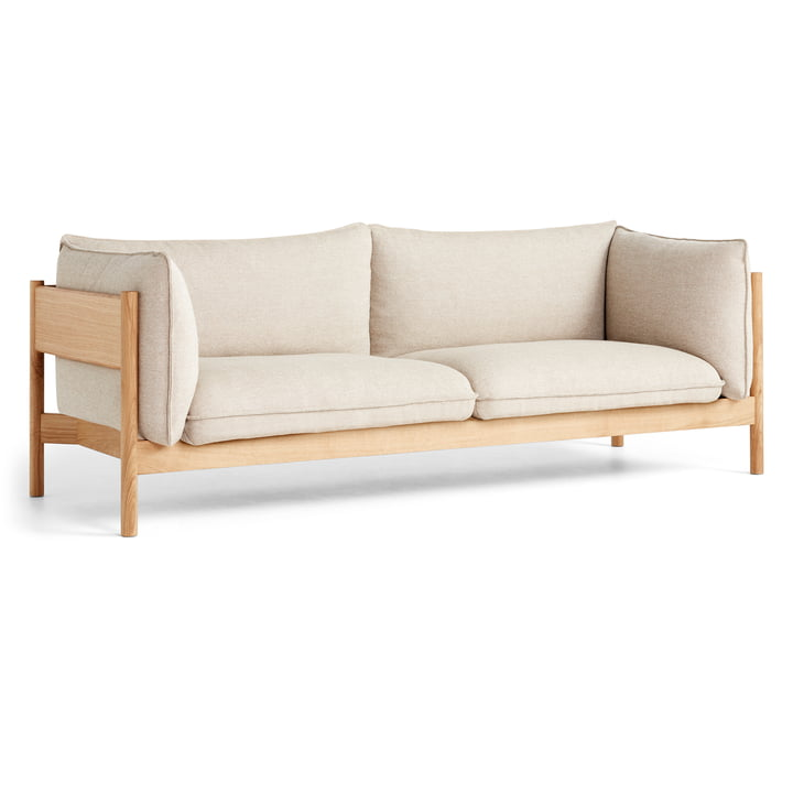 Das Arbour Sofa, 3-Sitzer, Hallingdal 220 von Hay