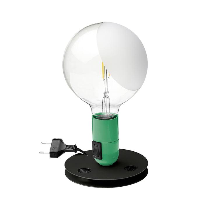 Lampadina LED Tischleuchte, grün von Flos