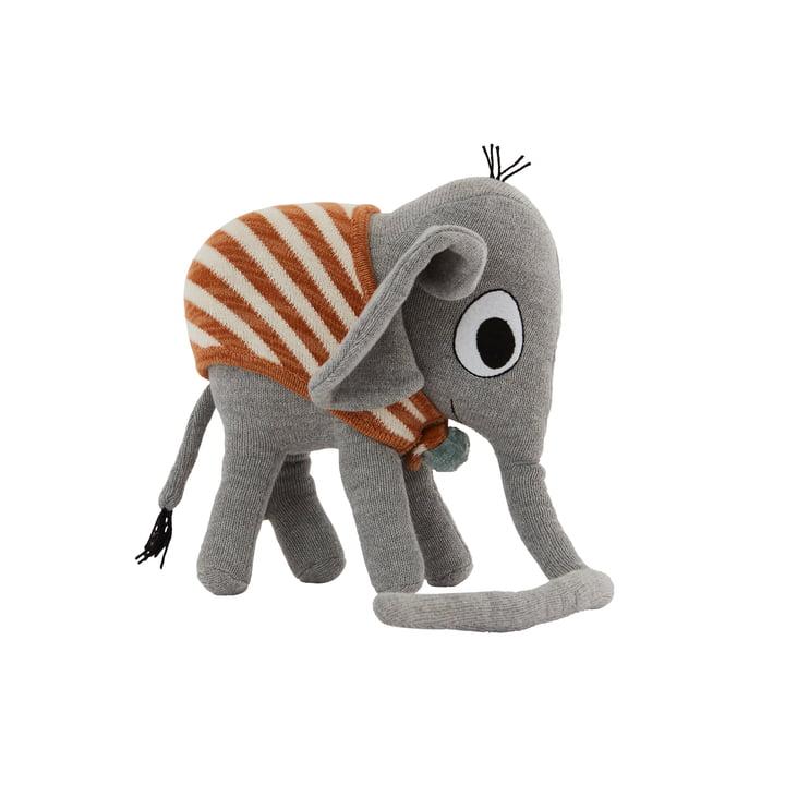 Das Strick-Kuscheltier, Elephant Henry von OYOY