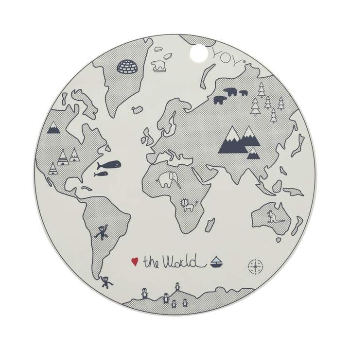 Das World Tischset, Ø 39 cm, off-white von OYOY