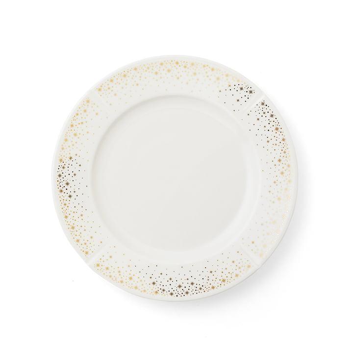 Der Grand Cru Moments Teller, Ø 23 cm, weiß / gold von Rosendahl